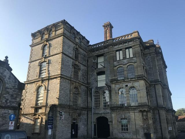 A former Anglo-Bavarian Brewery in Shepton Mallet, Somerset