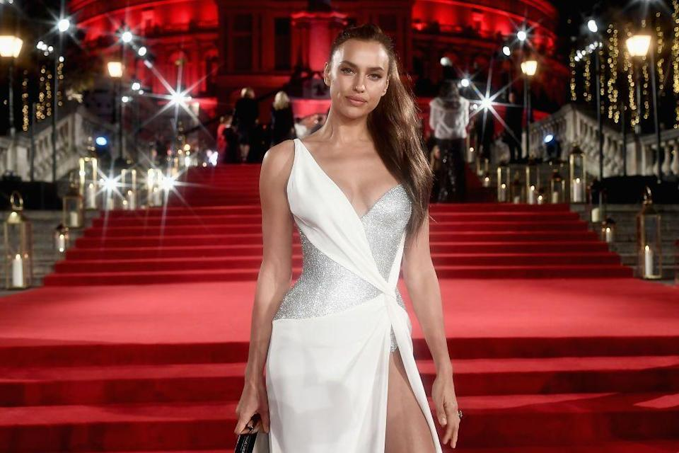 """<p>Russian <a href=""""https://www.elle.com/fashion/celebrity-style/a34195316/how-to-watch-rihanna-savage-x-fenty-show-vol-2-sneak-peek-exclusive-images/"""" rel=""""nofollow noopener"""" target=""""_blank"""" data-ylk=""""slk:Fenty"""" class=""""link rapid-noclick-resp"""">Fenty</a> model Irina Shayk knows how to serve it on the red carpet in Versace as much as she does as a <a href=""""https://www.elle.com/culture/celebrities/news/a41119/bradley-cooper-and-irina-shayk-pregnant/"""" rel=""""nofollow noopener"""" target=""""_blank"""" data-ylk=""""slk:Victoria's Secret show star"""" class=""""link rapid-noclick-resp"""">Victoria's Secret show star</a>. Now 34, Shayk can often be spotted storming the streets of Manhattan in Burberry fits, sometimes matching herself with her and ex-husband Bradley Cooper's daughter <a href=""""https://www.elle.com/uk/fashion/a28080681/irina-shayk-lea-de-seine-shayk-cooper-matching-burberry/"""" rel=""""nofollow noopener"""" target=""""_blank"""" data-ylk=""""slk:Lea De Seine"""" class=""""link rapid-noclick-resp"""">Lea De Seine</a>. </p><p>Whether it be at the Golden Globes or SoHo, here are <strong>33 of Irina Shayk's best style moments</strong>...</p>"""
