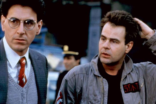 Harold Ramis, who co-wrote and starred in the original Ghostbusters films with Aykroyd, will be honored in Afterlife (Image by Columbia Pictures)