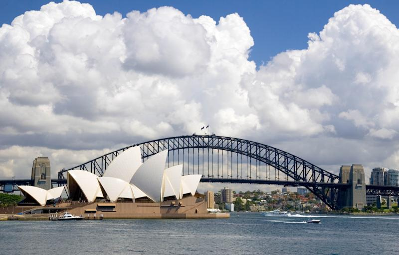 The classic view of Sydney Harbour rarely shows a tiny Island brimming with history. Photo: Getty Images