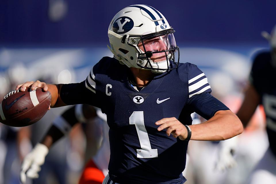 QB Zach Wilson was a three-year starter for BYU.