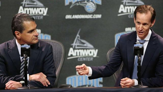 Magic's Jeff Weltman excited about draft, says team will seek 'best players' available