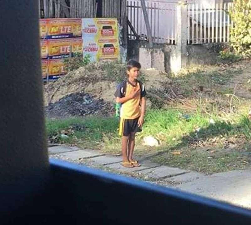 Viral News Home: 'Patriotic' Boy In Argao, Cebu Goes Viral
