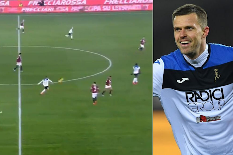Watch | Josip Ilicic Scores With Free-kick from Halfway Line as His Hat-trick Helps Atalanta Rout Torino 7-0