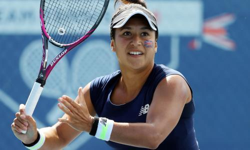 Heather Watson teaches Emma Raducanu a lesson in Battle of Brits