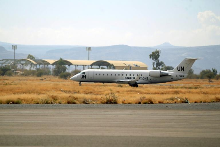 """A first """"mercy flight"""" had evacuated seven children from Sanaa on Monday for medical treatment in Jordan"""