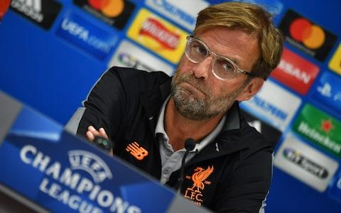 Liverpool manager Jürgen Klopp - Credit: Getty Images