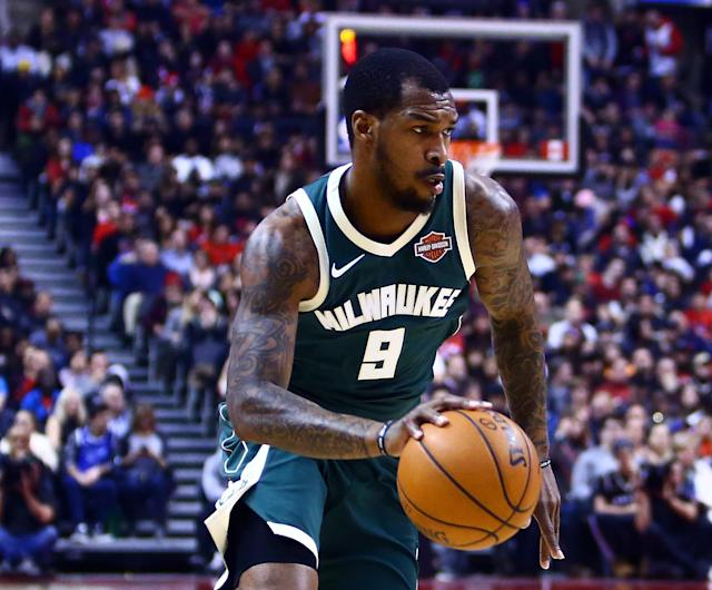 "<a class=""link rapid-noclick-resp"" href=""/nba/players/5428/"" data-ylk=""slk:Sean Kilpatrick"">Sean Kilpatrick</a> has played five games for the Bucks. (Getty)"