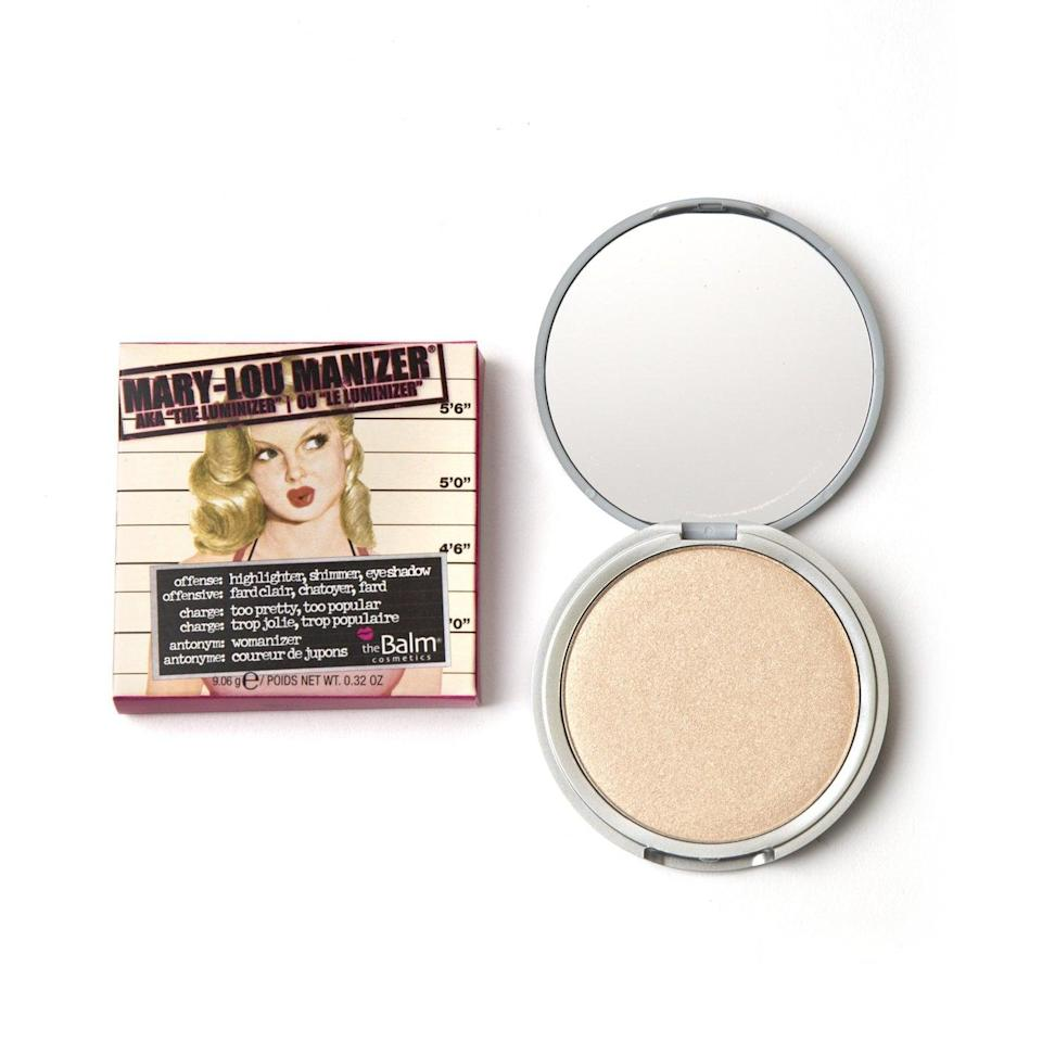 <p>The cult-favorite <span>The Balm Mary-Lou Manizer</span> ($24) is ideal for anyone who is a fan of champagne shimmer. The subtle glow can be applied to your cheekbones or even your eyes to give off a dewy look.</p>