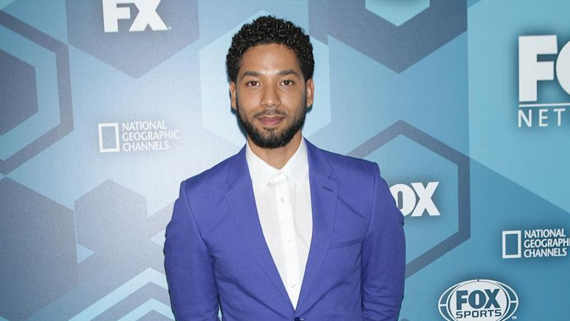 Jussie Smollett arrives at the FOX 2016 Programming Presentation red carpet arrivals at the Wollman Rink in Central Park on Monday, May 16, 2016, in New York City. Diego Corredor / MediaPunch /IPX