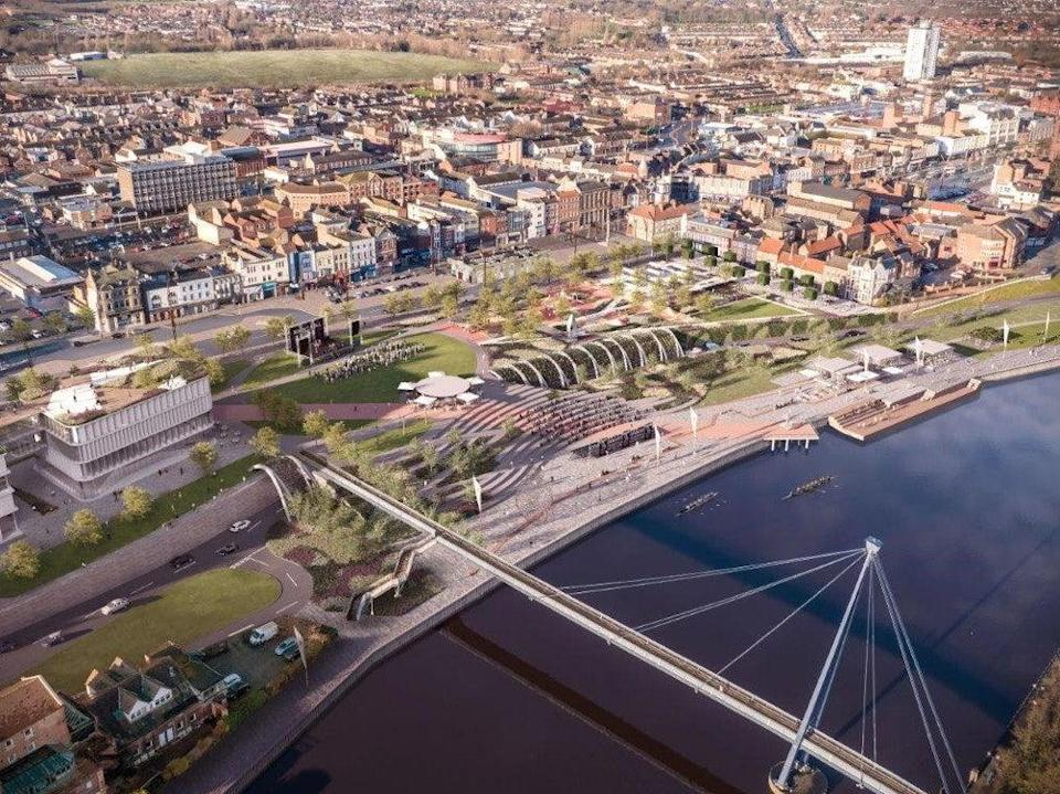 Transformed: how Stockton's new town centre could look (Stockton Council)