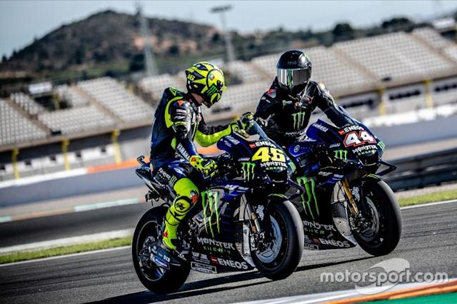 "Lewis Hamilton, Valentino Rossi <span class=""copyright"">Monster Energy</span>"