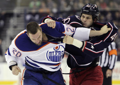Peace breaks out in NHL in 2014-15: Fighting is down, penalties are down, suspensions are down. (AP)