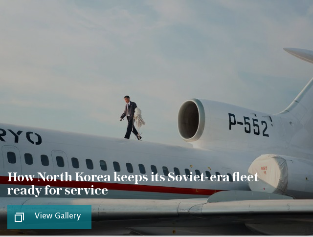 How North Korea's airline keeps its Soviet-era fleet ready for service