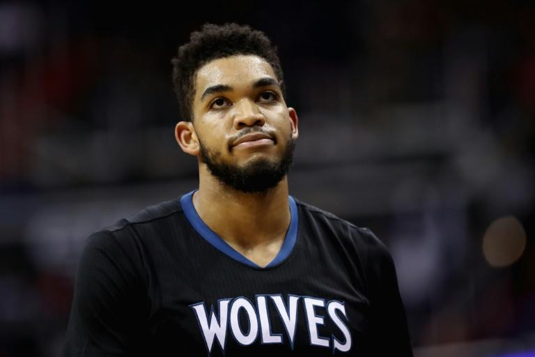 Karl-Anthony Towns poured on 39 points as the Minnesota Timberwolves pulled away for a surprisingly comfortable 119-104 win over the in-form Washington Wizards, at Target Center Minneapolis, on March 13, 2017