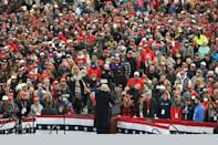 Trump's rallies, such as this one in Reading, Pennsylvania on Saturday, have become a unique phenomenon in American politics