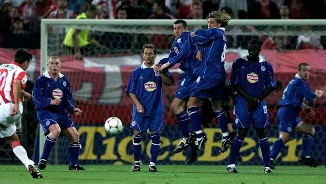 <p>There's not much to say on the history of Leicester City with European cups. </p> <br><p>While this season marks their first appearance in the Champions League after 129 years of existence, they've only participated three times in European competitions before that: twice in the UEFA Cup in 1997-98 and 2000-01, both times out in the first round (1/32), and once in the UEFA Cup Winners' Cup (1962, out in the round of 16).</p>