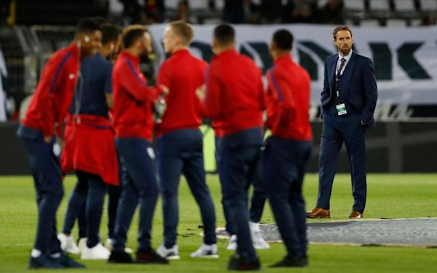 <span>Gareth Southgate (R) has some tough decisions to make</span>