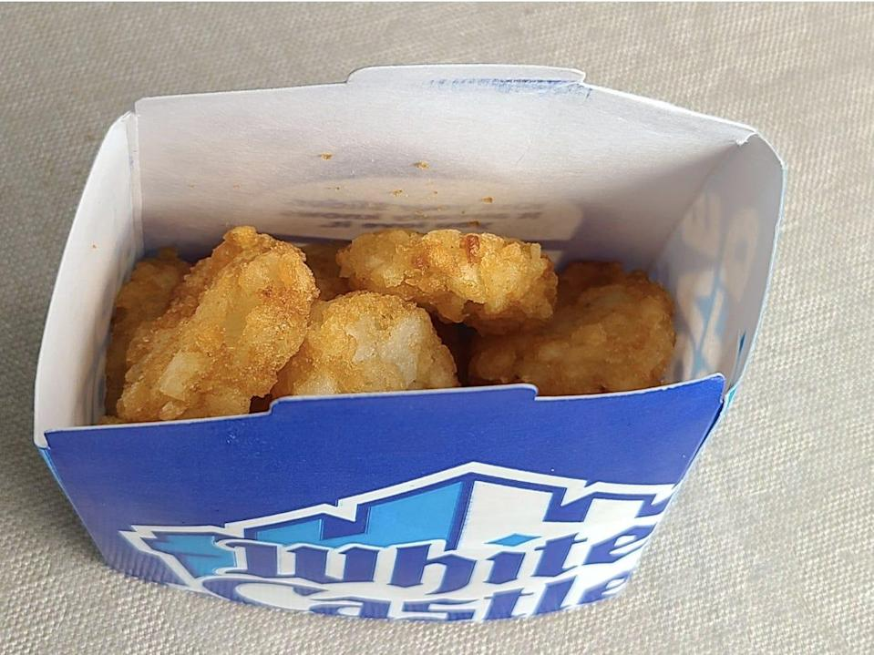 white castle hashbrowns