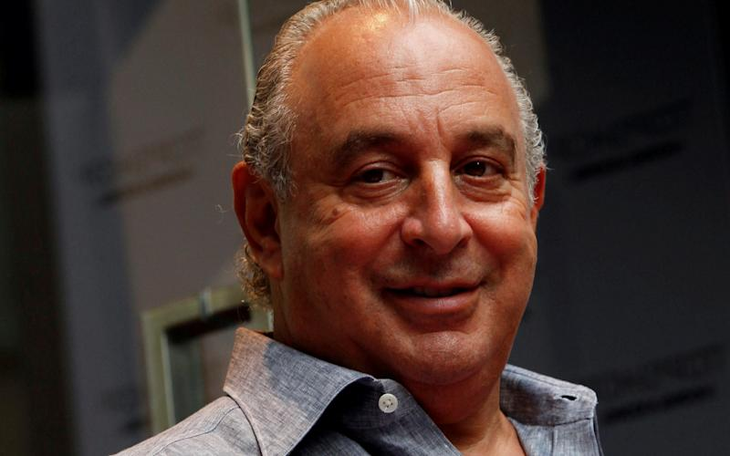 Sir Philip Green faced calls to be stripped of his knighthood after selling BHS for £1 - Reuters