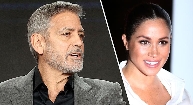 Meghan Markle being harassed, like Princess Diana — George Clooney