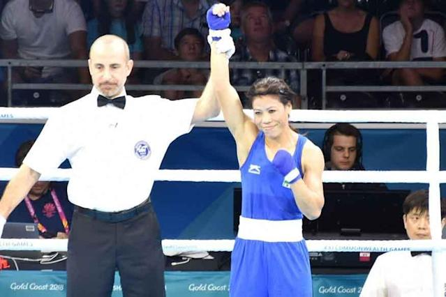 """After clinching her maiden Commonwealth Games medal, five-time world champion MC Mary Kom says she took the Gold Coast Games as a challenge and has urged other athletes to """"flush out"""" the age factor"""