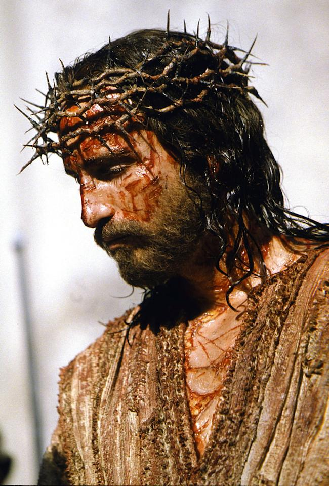 """<strong>2004</strong> – Mel Gibson's passion-project """"<a href=""""http://movies.yahoo.com/movie/the-passion-of-the-christ/"""">The Passion of the Christ</a>"""" opened wide on this Ash Wednesday. After putting up a chunk of his own cash to get the film made, Gibson was rewarded with an opening weekend that grossed more than $83 million. The extremely violent portrait of Jesus Christ's last 44 hours as an earthly being would go on to gross over $370 million domestically."""