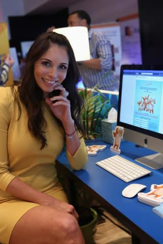 Giselle Blondet, host of Univision's Nuestra Belleza Latina, joins Charmin at Hispanicize to launch ...