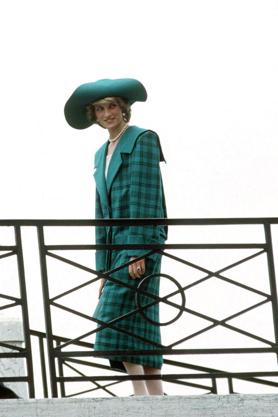 <p>While most royals stuck to the traditional tartans, Diana rocked plaid in every color imaginable in true 80s style.</p>
