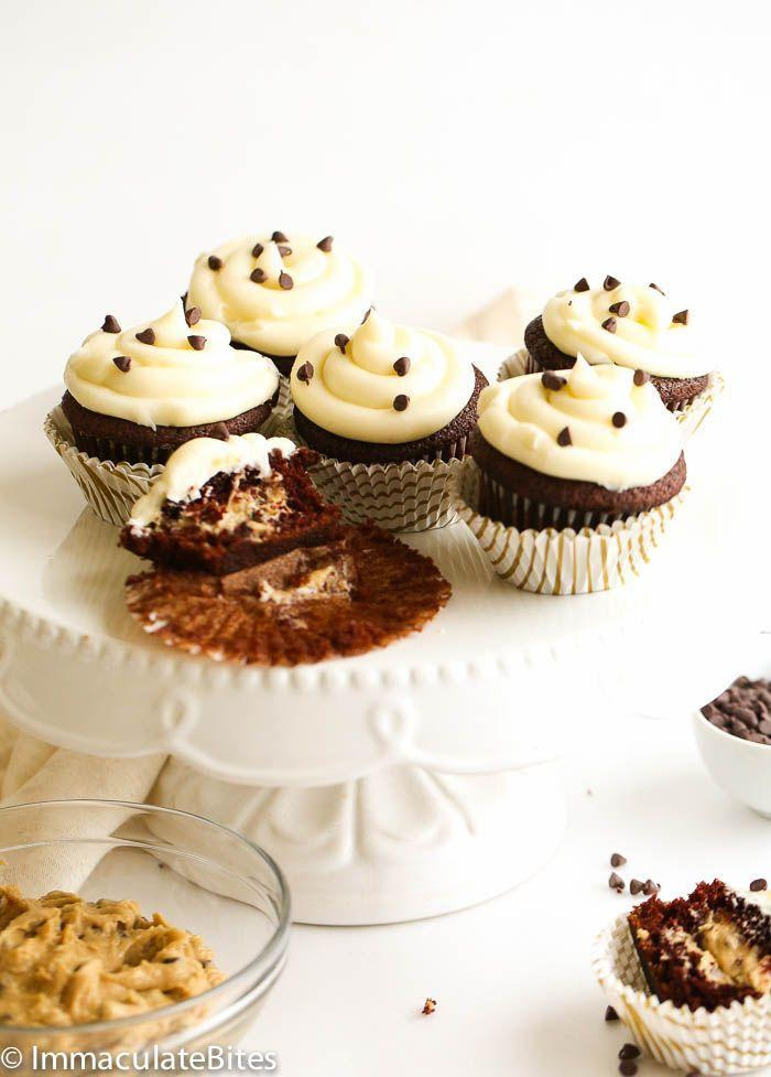 """<p>Watch your partner's face light up when they bite into these rich cupcakes and discover an amazing cookie dough filling. </p><p><strong>Get the recipe at <a href=""""https://www.africanbites.com/cookie-dough-stuffed-black-magic-cupcakes/"""" rel=""""nofollow noopener"""" target=""""_blank"""" data-ylk=""""slk:Immaculate Bites"""" class=""""link rapid-noclick-resp"""">Immaculate Bites</a>.</strong></p><p><strong><a class=""""link rapid-noclick-resp"""" href=""""https://go.redirectingat.com?id=74968X1596630&url=https%3A%2F%2Fwww.walmart.com%2Fsearch%2F%3Fquery%3Delectric%2Bmixer&sref=https%3A%2F%2Fwww.thepioneerwoman.com%2Ffood-cooking%2Fmeals-menus%2Fg35139389%2Fvalentines-day-cupcake-ideas%2F"""" rel=""""nofollow noopener"""" target=""""_blank"""" data-ylk=""""slk:SHOP ELECTRIC MIXERS"""">SHOP ELECTRIC MIXERS</a><br></strong></p>"""