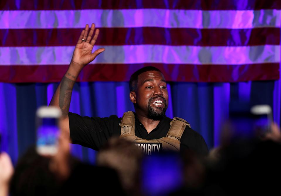 Kanye West speaks more about his pro-life stance in a new interview. (Photo: REUTERS/Randall Hill)