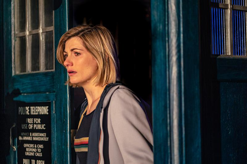 Jodie Whittaker's Doctor battled the Praxeus virus. (BBC/Ben Blackall)