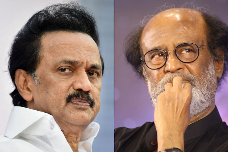 'Think and Speak': Amid Uproar over Periyar Remark, Stalin Has a Piece of Advice for Rajinikanth