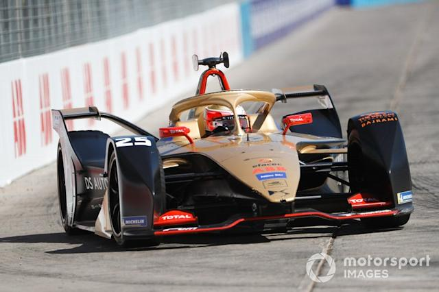 "Jean-Eric Vergne, DS TECHEETAH, DS E-Tense FE19 <span class=""copyright"">Alastair Staley / Motorsport Images</span>"