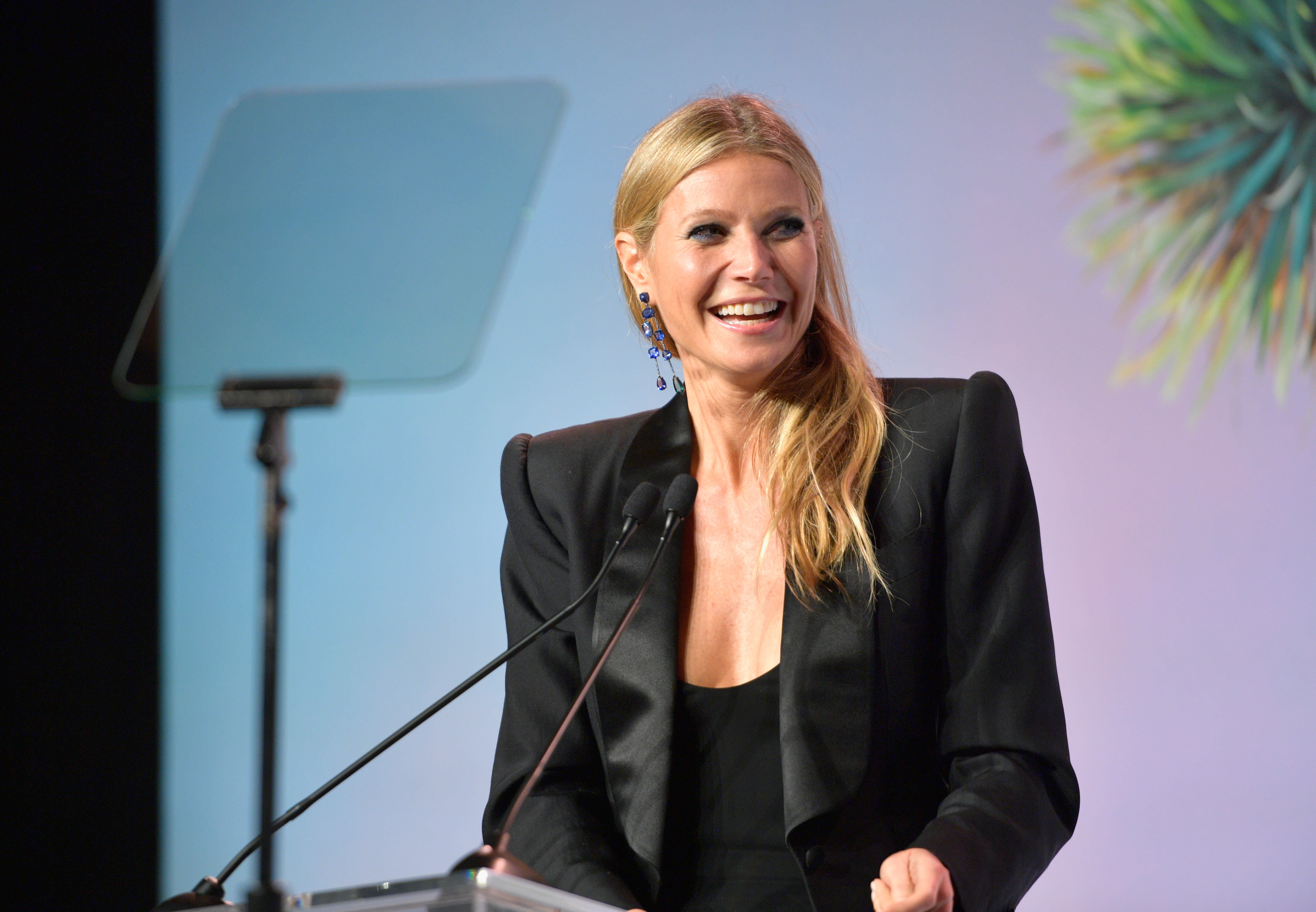 """""""I've been in relationships with men who had intimacy issues,"""" Gwyneth Paltrow says. (Matt Winkelmeyer via Getty Images)"""