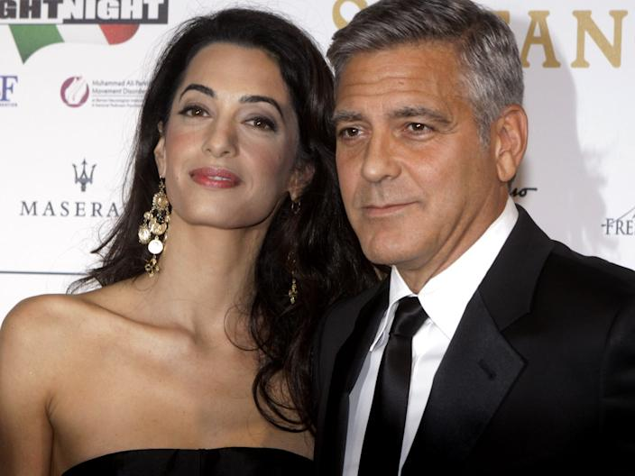 amal and george clooney september 2014