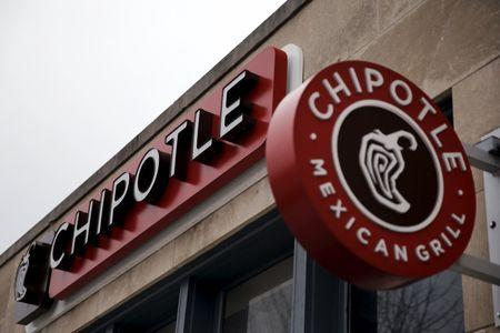 Chipotle Mexican Grill is seen in uptown Washington