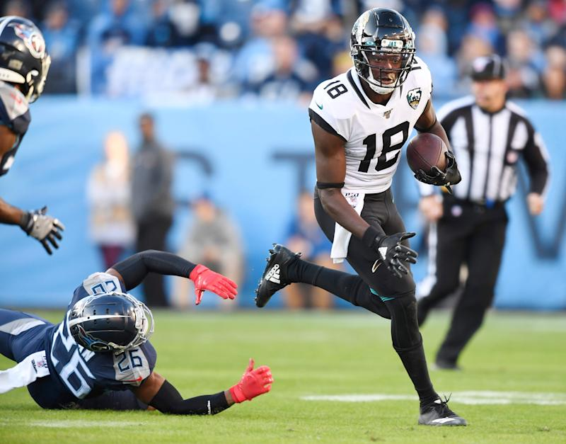 Jaguars odds noticeably shift after injuries to Titans players