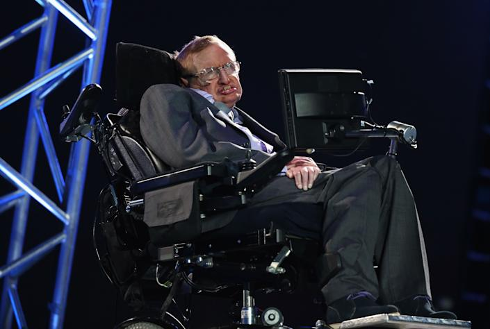 """""""I have no idea. People who boast about their I.Q. are losers.""""  -- Hawking's response when asked by <em>The New York Times</em> about his I.Q."""