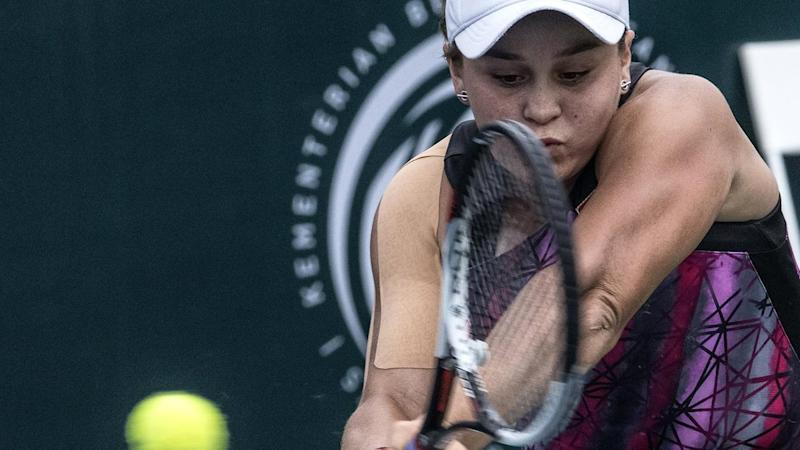 Comeback queen Ashleigh Barty is into her first WTA Tour final.