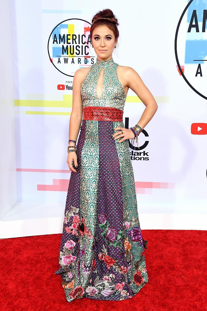 <p>Lauren Daigle attends the 2018 American Music Awards at Microsoft Theater on Oct. 9, 2018, in Los Angeles. (Photo: Steve Granitz/WireImage) </p>