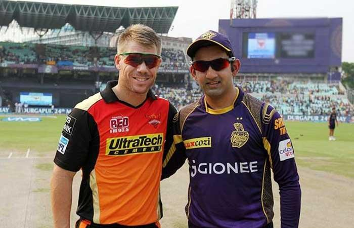 IPL 10 : Sunrisers Hyderabad elect to field against Kolkata Knight Riders