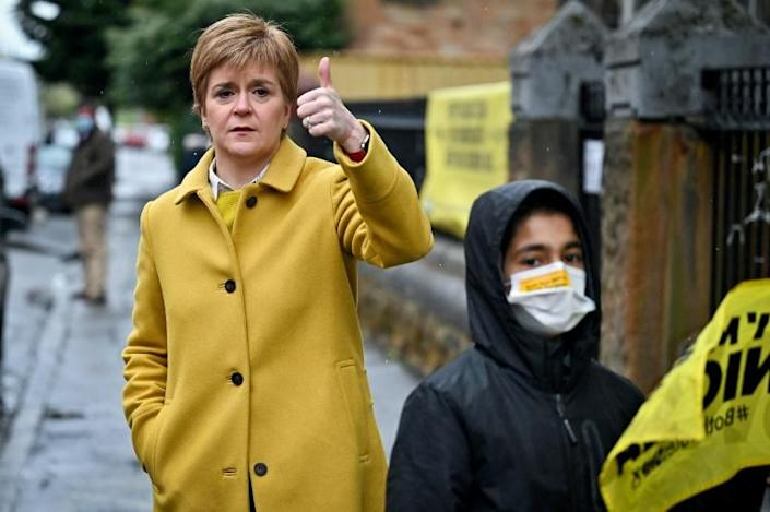 First Minister and leader of the Scottish National Party (SNP), Nicola Sturgeon wants Scotland to break away