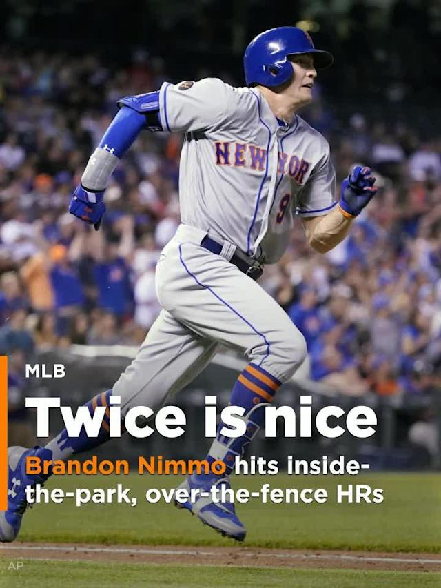 Speed and power are two of the most coveted tools in baseball. New York Mets left fielder Brandon Nimmo put both on display on Monday with a pair of very different home runs against the Colorado Rockies.