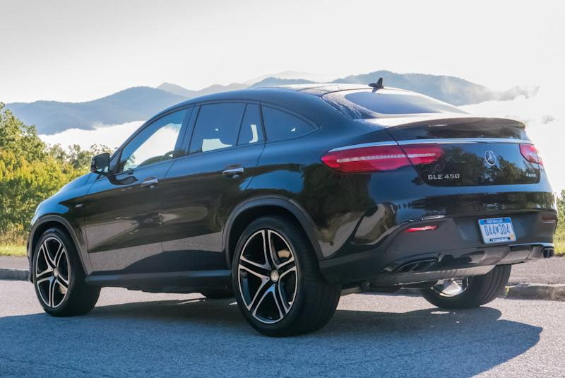 2016 mercedes-benz gle450 amg sport coupe: first drive
