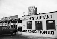 <p>Though residential air conditioning was nothing new, restaurants with cooling systems were less common. Many spots advertised AC along with their menu items to draw in customers, especially during hot, summer days.</p>