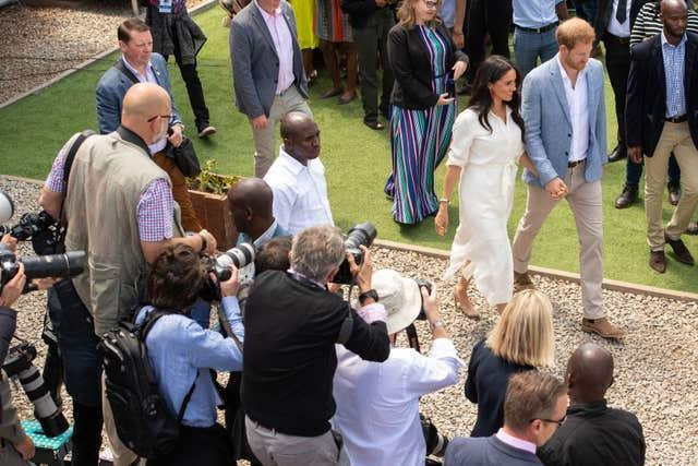 The Sussexes in South Africa