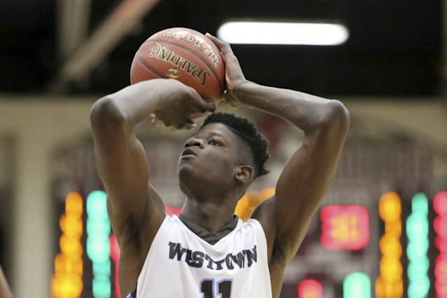 Mohamed Bamba chose Texas last month over Duke, Kentucky and Michigan. (AP)