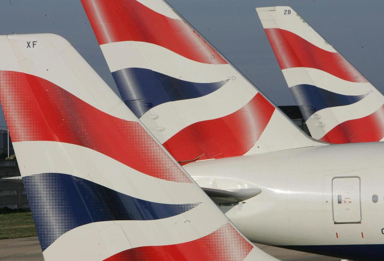 British Airways ranked bottom for its first and business class service (Picture: PA)