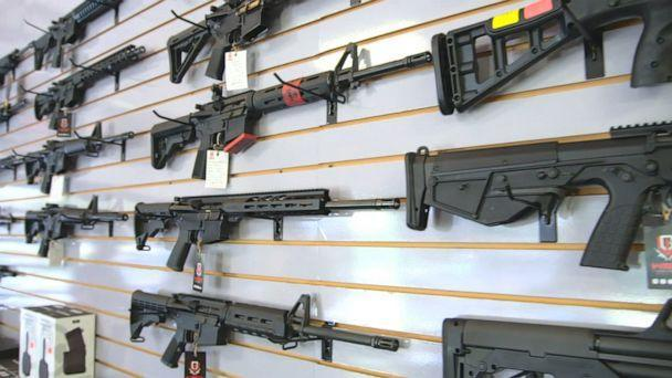 PHOTO: An estimated 21 million guns have been sold so far in 2020, according to an analysis of FBI background check data by The Trace. (ABC News)